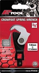 """PKTOOL SPRING WRENCH CROWFOOT 3/8"""""""