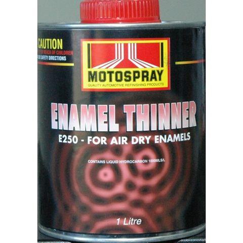 ENAMEL THINNER E250 1LT