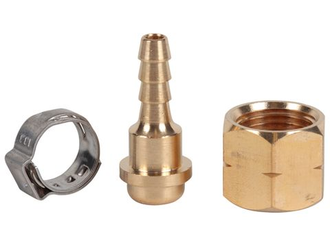 HOSE FTNG- KIT 5MM LH (NUT+TAIL+CLAMP)