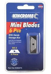 KINC REPLACEMENT MINI BLADE 6PC