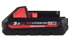 MILW BATT M18 REDLITHIUM 3.0AH BATT PACK
