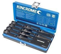 KINC IMPACT HEX SKTSET 1/2D 10P-MET