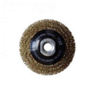 BRUSH BEVEL 100 MULTI THREAD CRIMPED