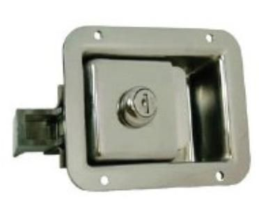 LATCH PADDLE SMALL LOCKABLE S/S