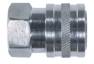 BAR QUICK CONNECT COUPLING SS FEMALE 3/8