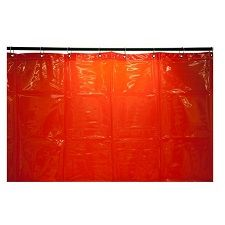 WELDING CURTAIN RED 1.8X1.8