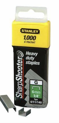 STANLEY STAPLE HEAVY DUTY 6MM (1000)