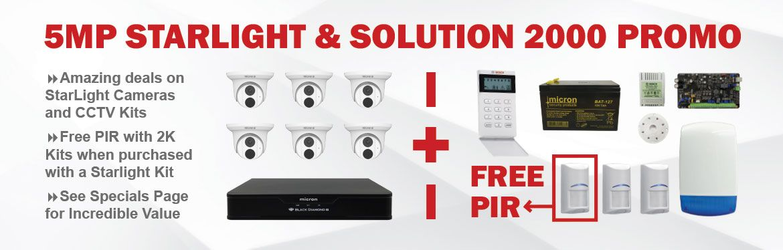 Starlight CCTV & Bosch Solution 2000 Special
