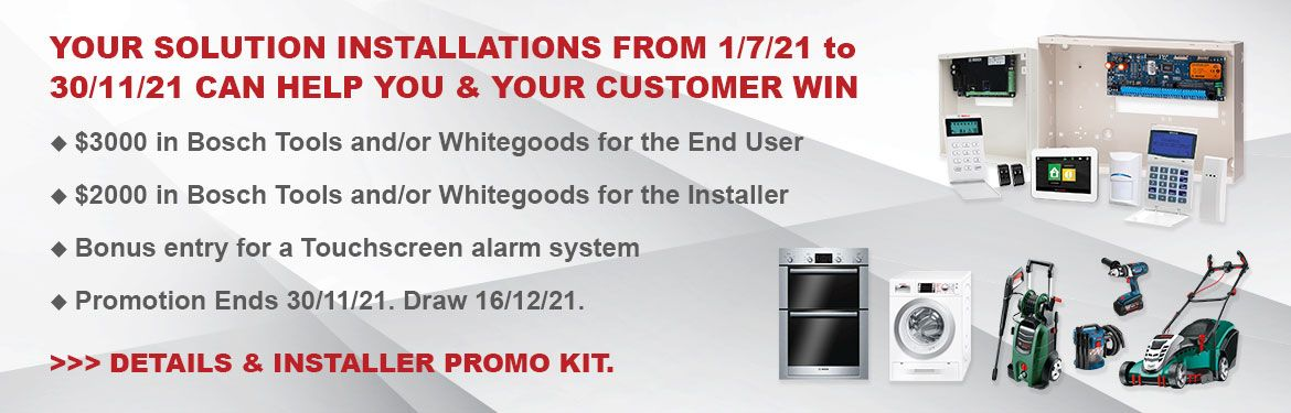 Every Bosch Solution System Installed can Help You Win
