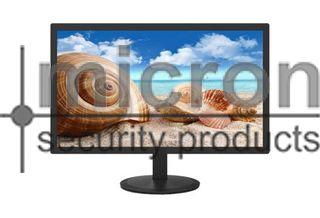 """Micron 22"""" HD1080 CCTV Monitor HDMI And VGA Inputs."""