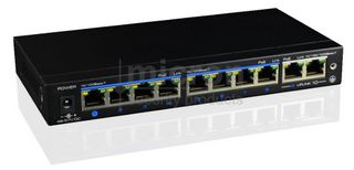 Micron 8 Port POE Switch