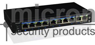 Micron 8 Port POE Switch