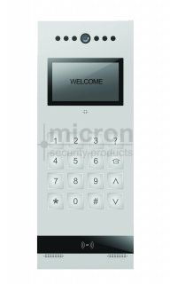 Micron SLIM Apartment Colour Door Station. Digital Keypad, Built in Prox Reader