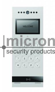 Micron SLIM Apartment Colour Door Station. Digital Keypad, Built in Prox Reader