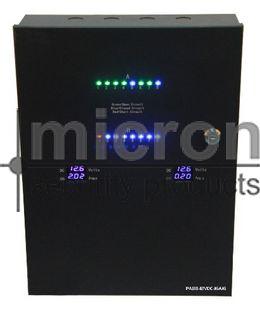 Micron 12VDC 16AMP Power Supply 2 x 8 Way Distribution Board