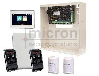 Bosch Sol 3K + 4.3 Touch Screen KP + B810 Radion RX + 2 x Radion PIR + 2 x Radion 4 Button Fobs