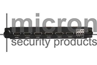 Micron BLACK DIAMOND NVR 6 Way HDMI Matrix Switcher. Only Suitable to 64ch & 128ch