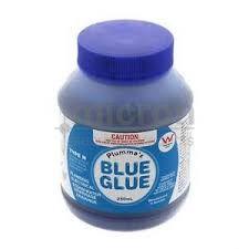 PVC Cement Glue 500ml. Blue