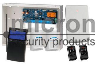 **DISCONTINUED**REFER TO PROX KIT SAK6SPBWP AT SAME PRICE***Bosch 6K Panel + 1 x SCP710 Black Graphic Keypad + 2 RF Pir 2 x RF Keyfob + RX
