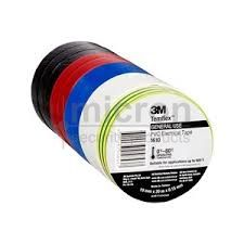 Electrical Tape Rainbow Pack of 10