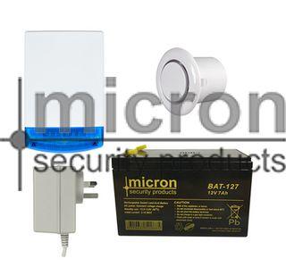 Micron Bell Box Accessory kit Inc Batt + P/Pack + Flush Screamer