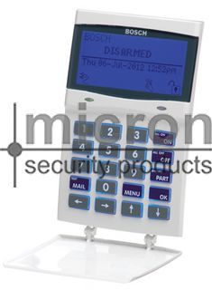 CP722B SMART Solution 6000 Graphic Keypad White SMART CARD PROX