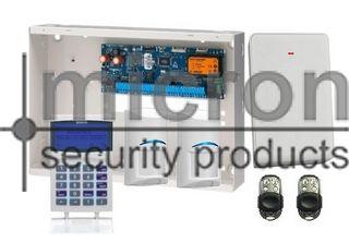 **DISCONTINUED**REFER TO PROX KIT SAK6SPWPM AT SAME PRICE***Bosch 6K Panel + 1 x SCP700 Graphic Keypad + 2 RF Pir 2 x Metal RF Keyfob + RX