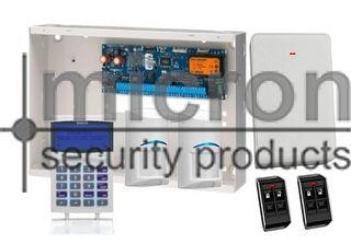 Bosch 6K + 1 x SCP722 SMART PROX Graphic Keypad + 2 x RF Tri Tech 2 x Keyfob + RX