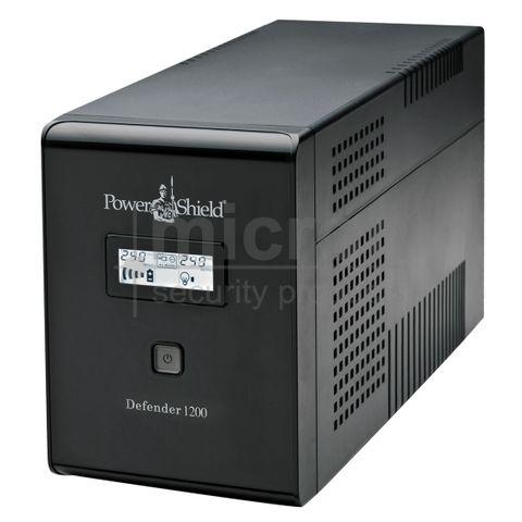 Power Shield 1200VA Defender Series UPS. Inc 2 x 12V 7.2ah Battery