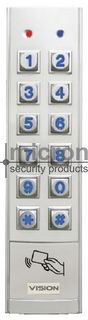 CP156B Solution 6000 Slim External Keypad With Built In Reader