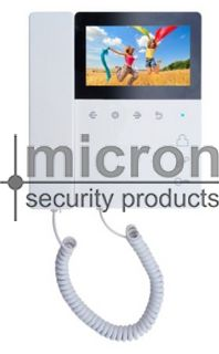 """Micron Apartment 4.3"""" Monitor With Hand Set"""