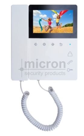 "Micron Apartment 4.3"" Monitor With Hand Set"