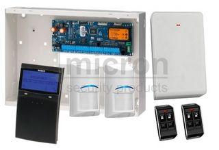 **DISCONTINUED**REFER TO PROX KIT SAK6SPBWT AT SAME PRICE***Bosch 6K Panel + 1 x SCP710 BLACK Graphic Keypad + 2 x RF Tri Tech 2 x RF Keyfob + RX