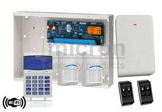 Bosch 6K + 1 x SCP741 WIFI Graphic Keypad + 2 x RF Pir 2 x Keyfob + RX