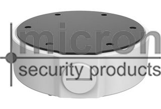 Micron IP Vandal Dome Surface Mount Ring