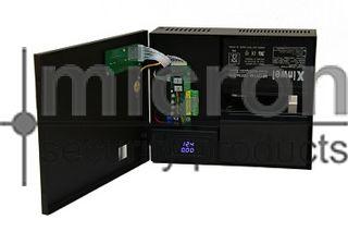 Micron 12VDC 4AMP Power Supply. 4 Way DB. Back Up  2 x 12V 7ah Batteries.