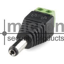 DC Male Connector Camera Side