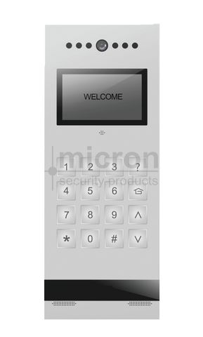 Micron SLIM Apartment Colour Door Station. Digital Keypad