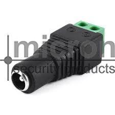DC Female Connector Power Supply Side
