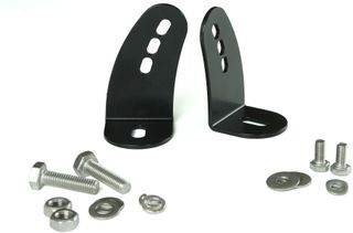 Side Mounts Kit (incl. stainless steel fixings) - Black