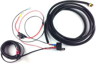 ST-Range, Triple-R Single-lamp harness kit with switch