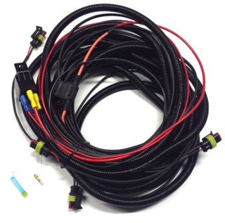 ST-Range, Triple-R Four lamp Pickup harness kit with splice