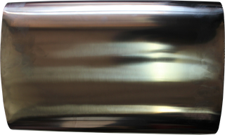 2 1/2in, 10in x 4in Oval Offset/Centre, 16in (400mm) Long, Megaflow Muffler - Medium - Stainless