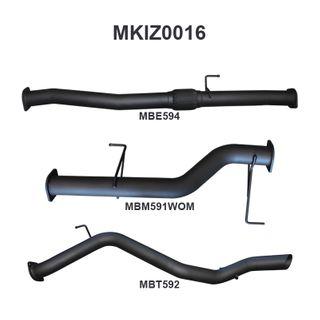 MU-X 2017 ON 3.0L DPF BACK