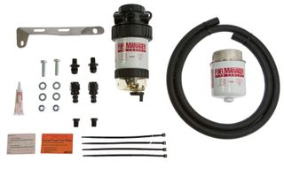 Isuzu D-Max & MU-X Fuel Manager Fuel Pre Filter Kit (suits dual battery) 2012 on