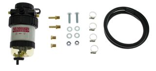 Universal 2 Micron Final Filter 8mm Hose Fuel Filter Kit