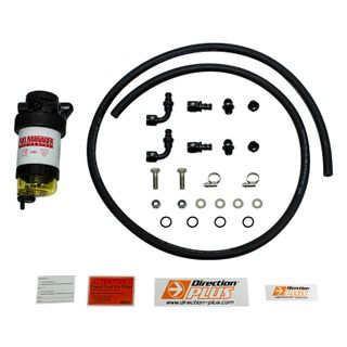 Universal 30 Micron Filter, 12mm Hose Fuel Filter Kit