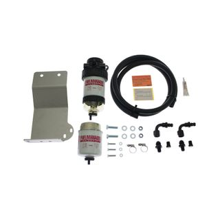 Isuzu D-Max, MU-X 3.0L Fuel Manager Fuel Pre Filter Kit (single battery) 2012 on