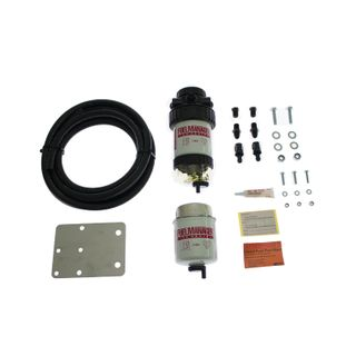 Nissan Patrol 3.0L Common Rail Fuel Manager Fuel Pre Filter Kit 2007 - on (mounts on passenger side)