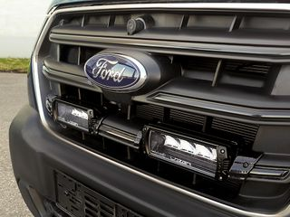Ford Transit (2019+) - Grille Mount Kit (includes: 2x Triple-R 750 Std (with Position Light), 1x Gri